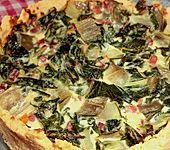 Mangold-Quiche (Bild)