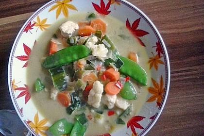 Thailändische Suppe 5
