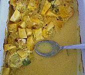 Hähnchenbrust in Mango - Kokossauce (Bild)