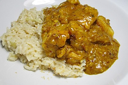 Indisches Chicken Korma 16