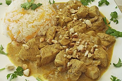 Indisches Chicken Korma 19