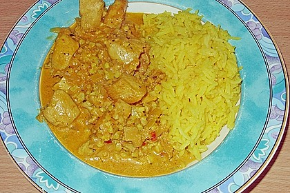 Indisches Chicken Korma 38