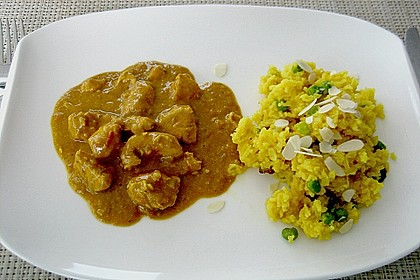 Indisches Chicken Korma 4