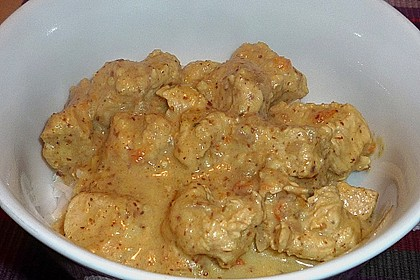 Indisches Chicken Korma 31