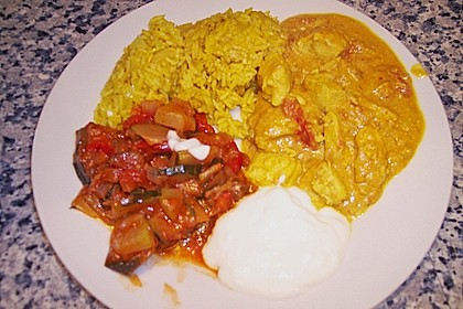 Indisches Chicken Korma 40