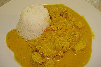 Indisches Chicken Korma 48