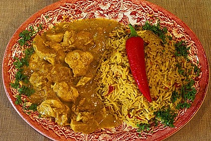 Indisches Chicken Korma 14