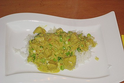 Indisches Chicken Korma 33