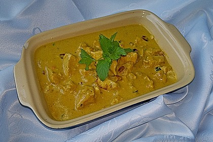 Indisches Chicken Korma 10