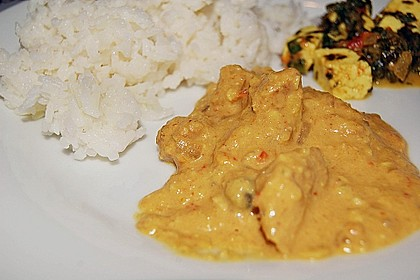 Indisches Chicken Korma 25