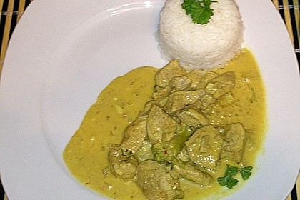 Indisches Chicken Korma 44