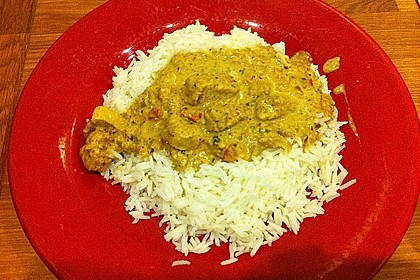 Indisches Chicken Korma 39