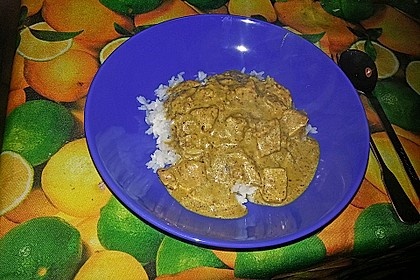 Indisches Chicken Korma 49