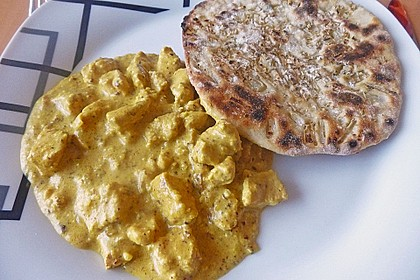 Indisches Chicken Korma 9