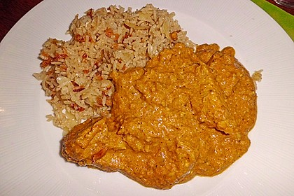 Indisches Chicken Korma 36