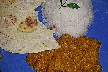 Indisches Chicken Korma 21