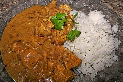 Indisches Chicken Korma 6