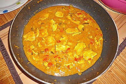 Indisches Chicken Korma 26