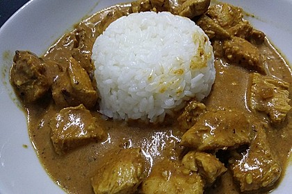 Indisches Chicken Korma 22