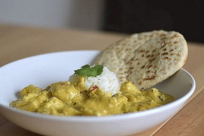 Indisches Chicken Korma 1