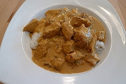Indisches Chicken Korma 27