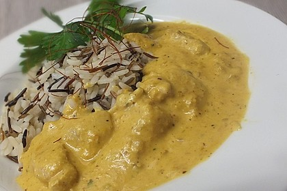 Indisches Chicken Korma 2