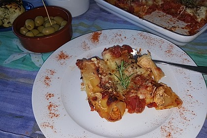 Cannelloni mit Frischkäsefüllung 6