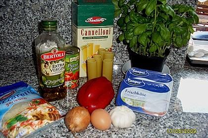 Cannelloni mit Frischkäsefüllung 10