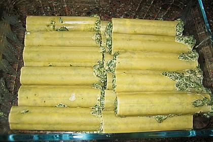 Cannelloni mit Frischkäsefüllung 3