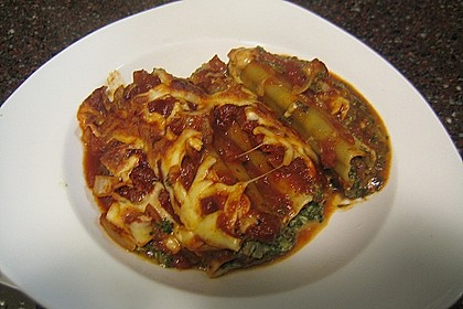 Cannelloni mit Frischkäsefüllung 5