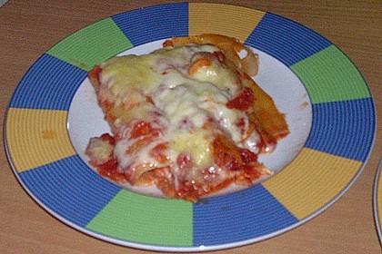 Cannelloni mit Frischkäsefüllung 9
