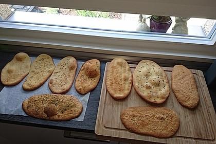 Indisches Naan Brot 30