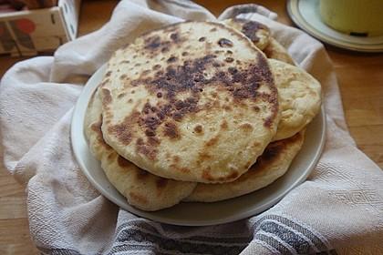 Indisches Naan Brot 55
