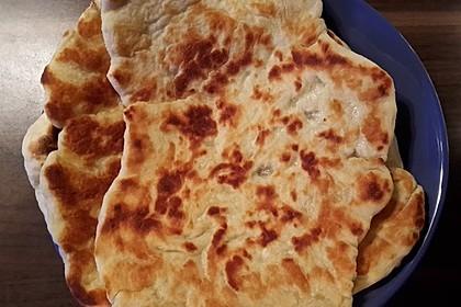 Indisches Naan Brot 35