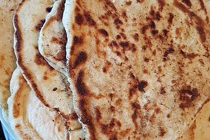 Indisches Naan Brot 40