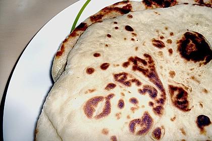 Indisches Naan Brot 44