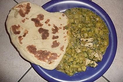 Indisches Naan Brot 108
