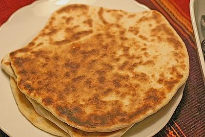 Indisches Naan Brot 63
