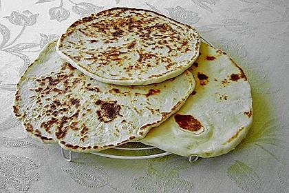 Indisches Naan Brot 18