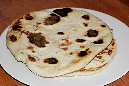 Indisches Naan Brot 74