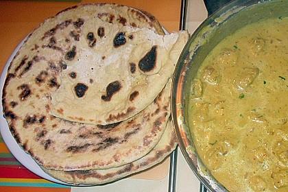 Indisches Naan Brot 117