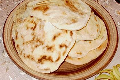 Indisches Naan Brot 102