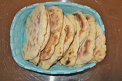 Indisches Naan Brot 77