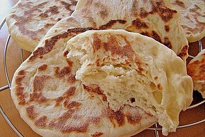 Indisches Naan Brot 9