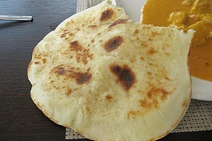 Indisches Naan Brot 38