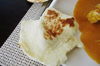 Indisches Naan Brot 87