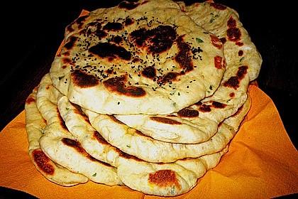 Indisches Naan Brot 91