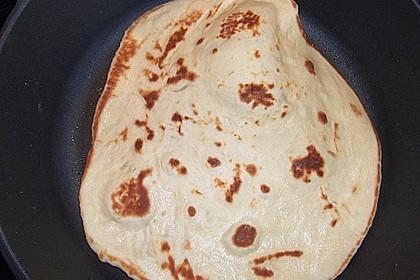 Indisches Naan Brot 89