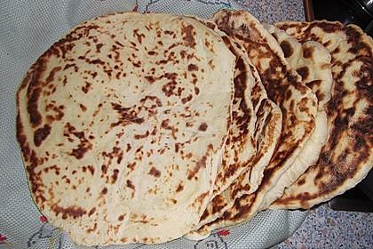 Indisches Naan Brot 79