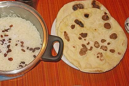 Indisches Naan Brot 106
